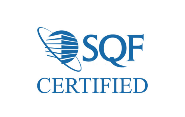 sqf certification cardbox packaging