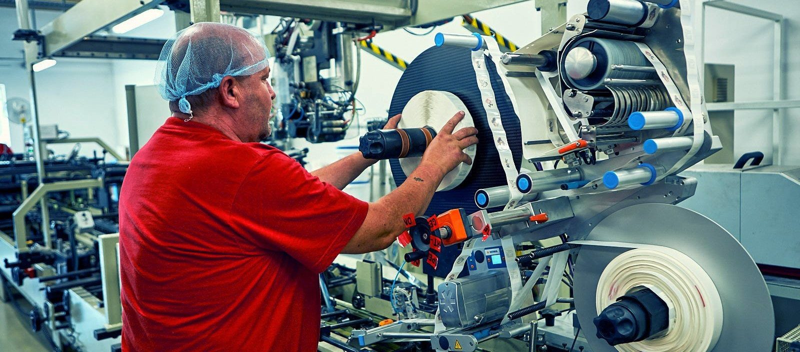gluing machine cardbox packaging